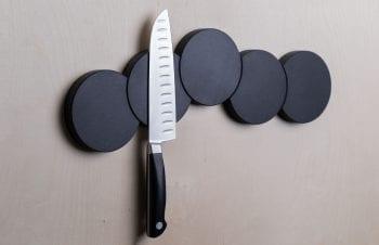 Magnetisk knivlist svart